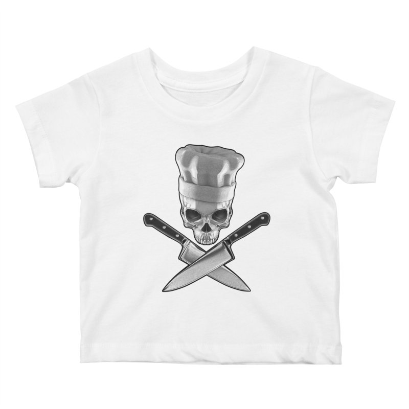 Def Chef Kids Baby T-Shirt by Grandio Design Artist Shop