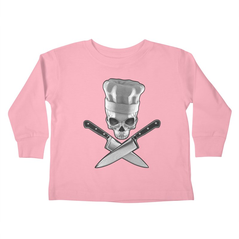 Def Chef Kids Toddler Longsleeve T-Shirt by Grandio Design Artist Shop