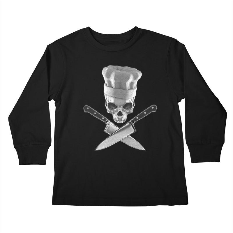 Def Chef Kids Longsleeve T-Shirt by Grandio Design Artist Shop