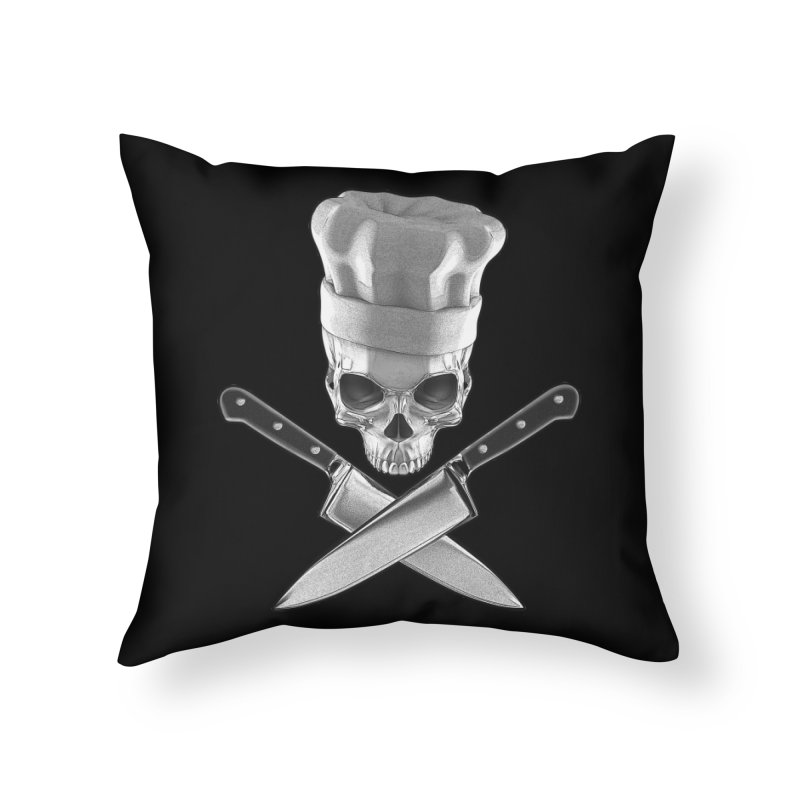 Def Chef Home Throw Pillow by Grandio Design Artist Shop