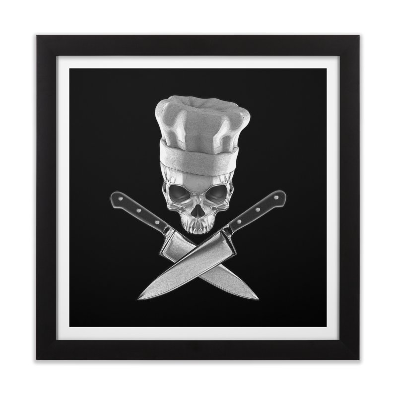 Def Chef Home Framed Fine Art Print by Grandio Design Artist Shop