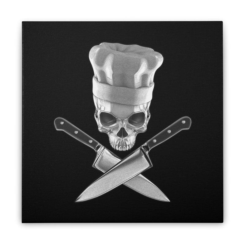 Def Chef Home Stretched Canvas by Grandio Design Artist Shop
