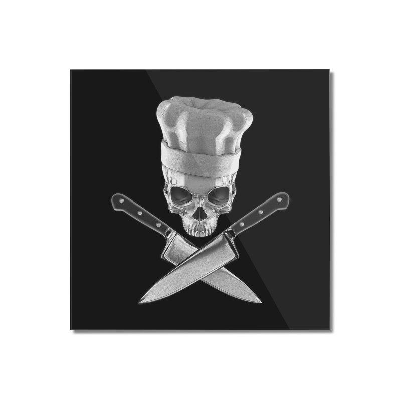 Def Chef Home Mounted Acrylic Print by Grandio Design Artist Shop