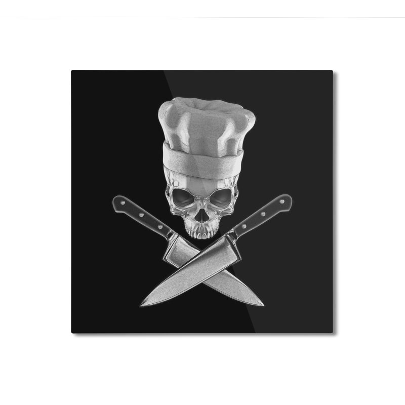 Def Chef Home Mounted Aluminum Print by Grandio Design Artist Shop
