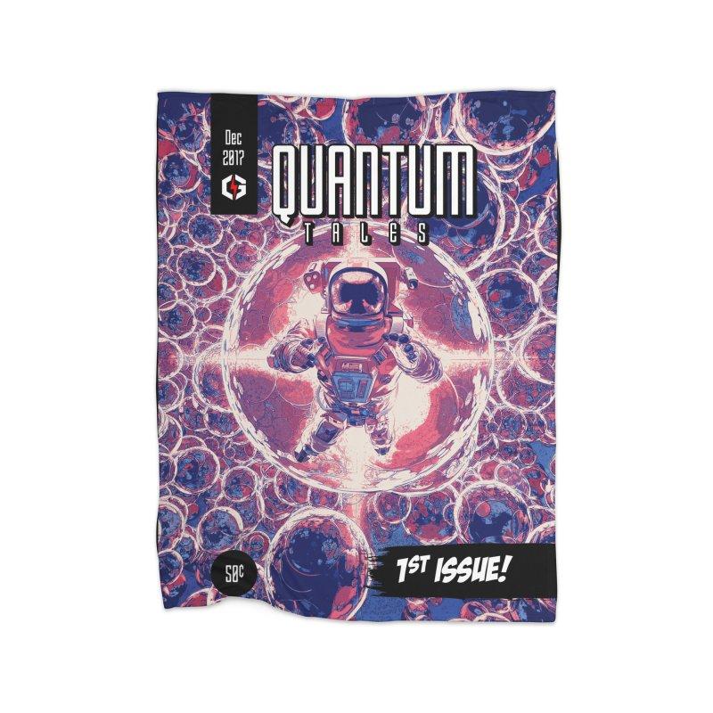 Quantum Tales 1st Issue Home Blanket by Grandio Design Artist Shop