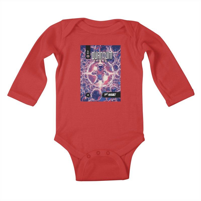 Quantum Tales 1st Issue Kids Baby Longsleeve Bodysuit by Grandio Design Artist Shop