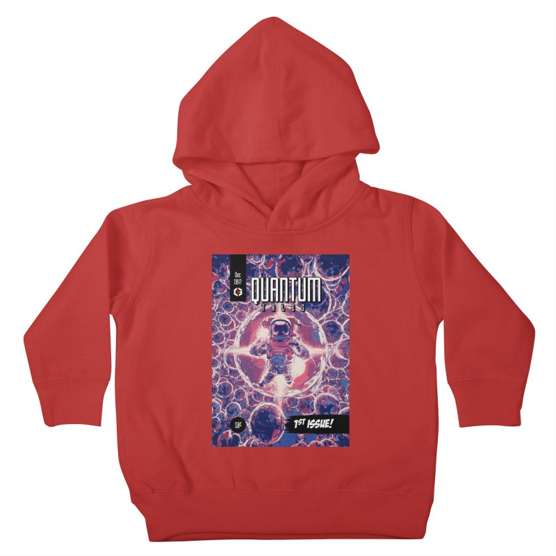 Quantum Tales 1st Issue Kids Toddler Pullover Hoody by Grandio Design Artist Shop