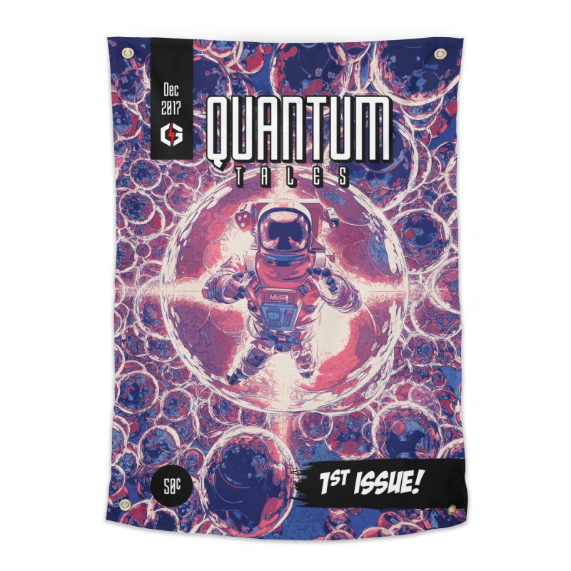 Quantum Tales 1st Issue Home Tapestry by Grandio Design Artist Shop