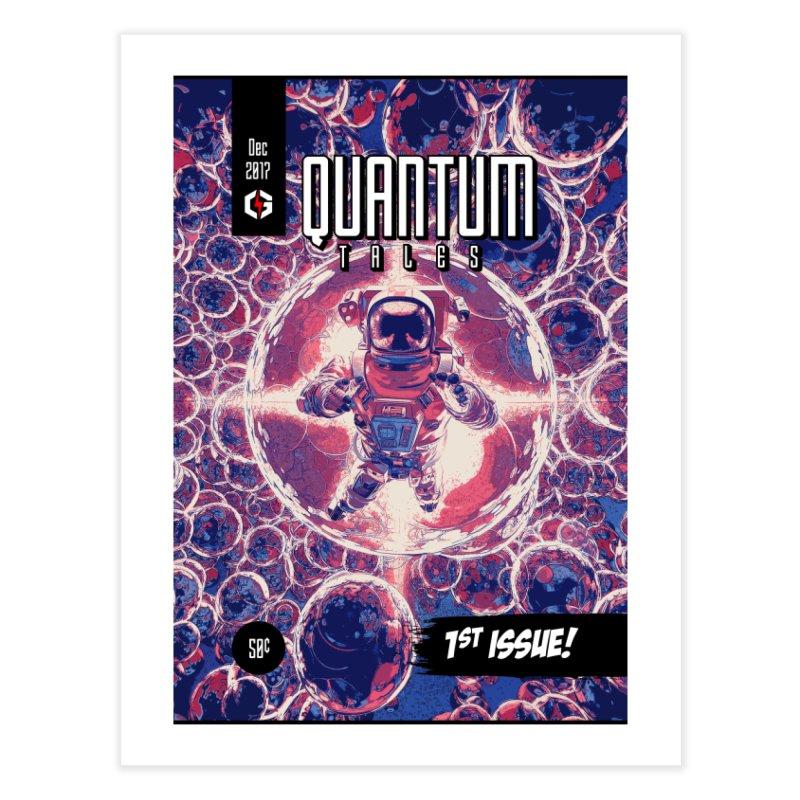 Quantum Tales 1st Issue Home Fine Art Print by Grandio Design Artist Shop
