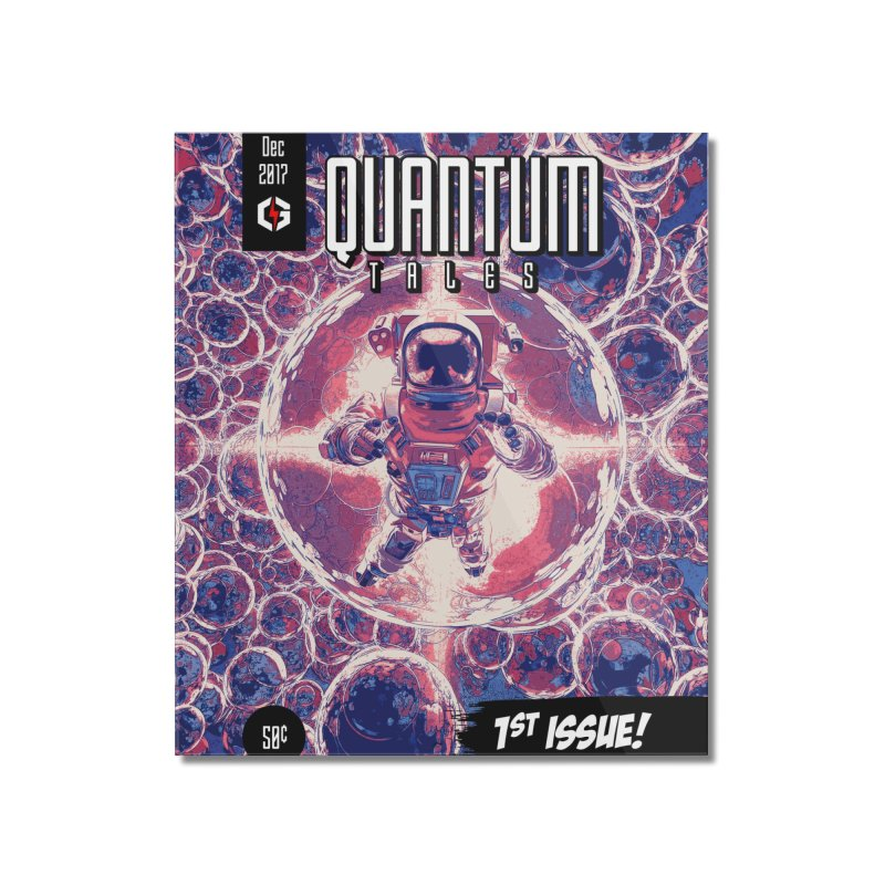 Quantum Tales 1st Issue Home Mounted Acrylic Print by Grandio Design Artist Shop
