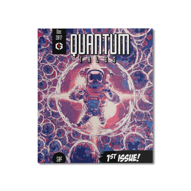 Quantum Tales 1st Issue Home Mounted Aluminum Print by Grandio Design Artist Shop