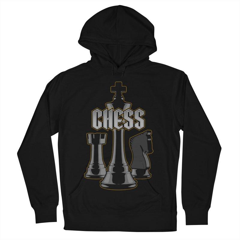Chess Royalty Men's Pullover Hoody by Grandio Design Artist Shop