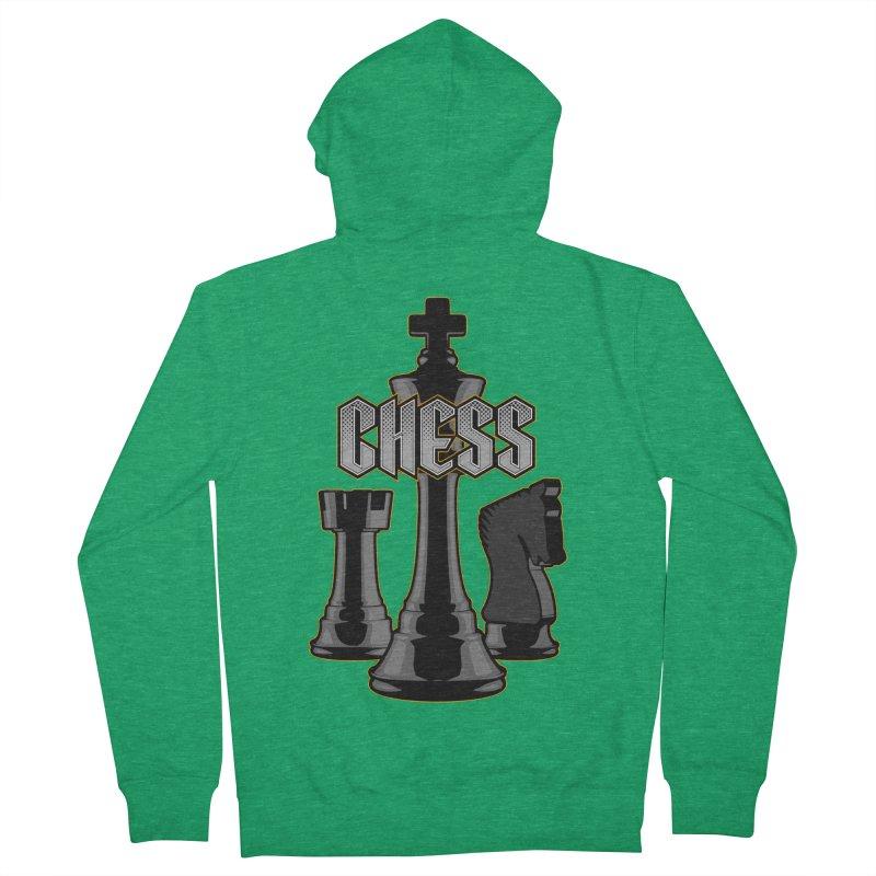 Chess Royalty Men's Zip-Up Hoody by Grandio Design Artist Shop