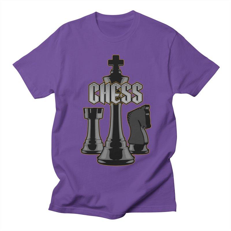 Chess Royalty Women's Unisex T-Shirt by Grandio Design Artist Shop