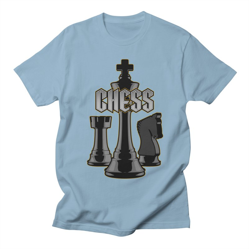 Chess Royalty Men's T-Shirt by Grandio Design Artist Shop