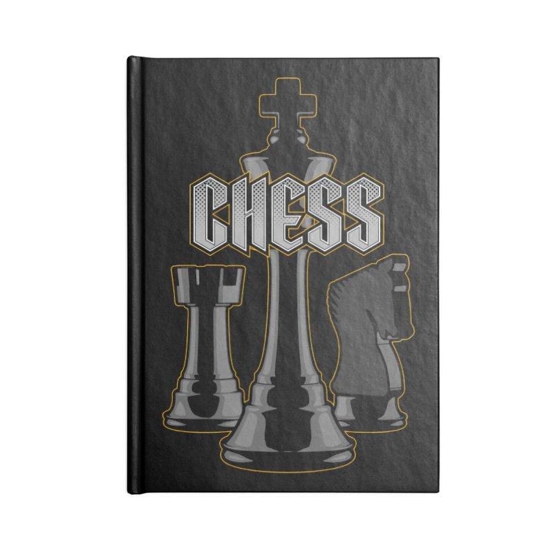 Chess Royalty Accessories Notebook by Grandio Design Artist Shop