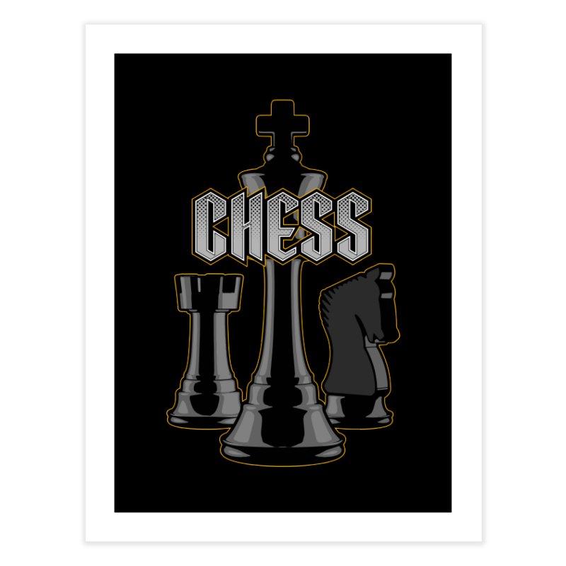 Chess Royalty Home Fine Art Print by Grandio Design Artist Shop