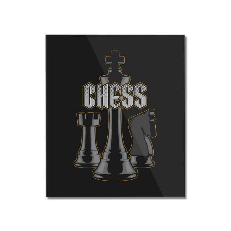 Chess Royalty Home Mounted Acrylic Print by Grandio Design Artist Shop