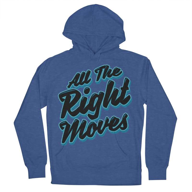 All The Right Chess Moves Men's Pullover Hoody by Grandio Design Artist Shop