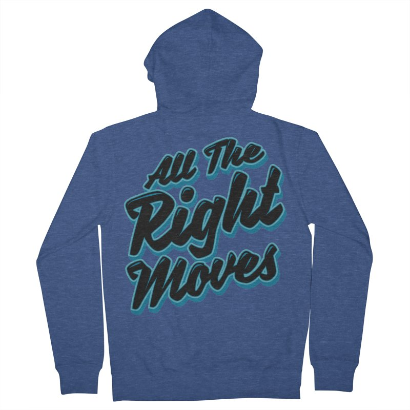 All The Right Chess Moves Women's Zip-Up Hoody by Grandio Design Artist Shop