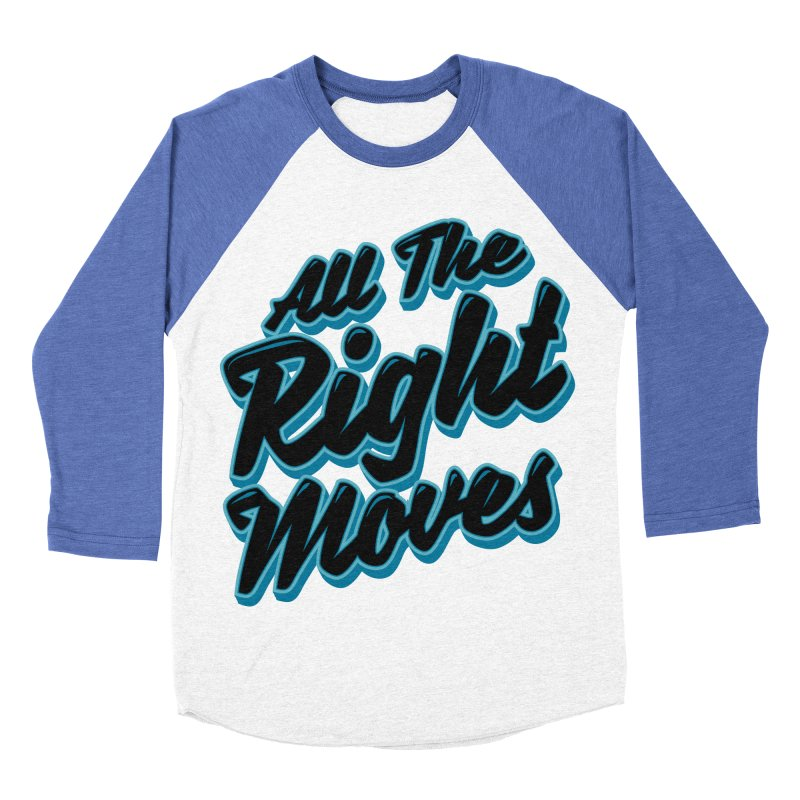 All The Right Chess Moves Women's Baseball Triblend T-Shirt by Grandio Design Artist Shop