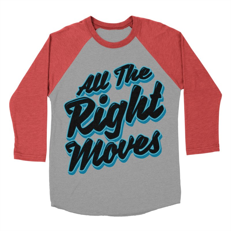 All The Right Chess Moves Men's Baseball Triblend T-Shirt by Grandio Design Artist Shop