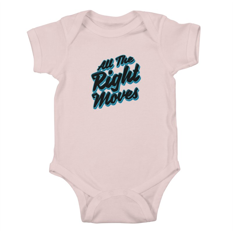 All The Right Chess Moves Kids Baby Bodysuit by Grandio Design Artist Shop