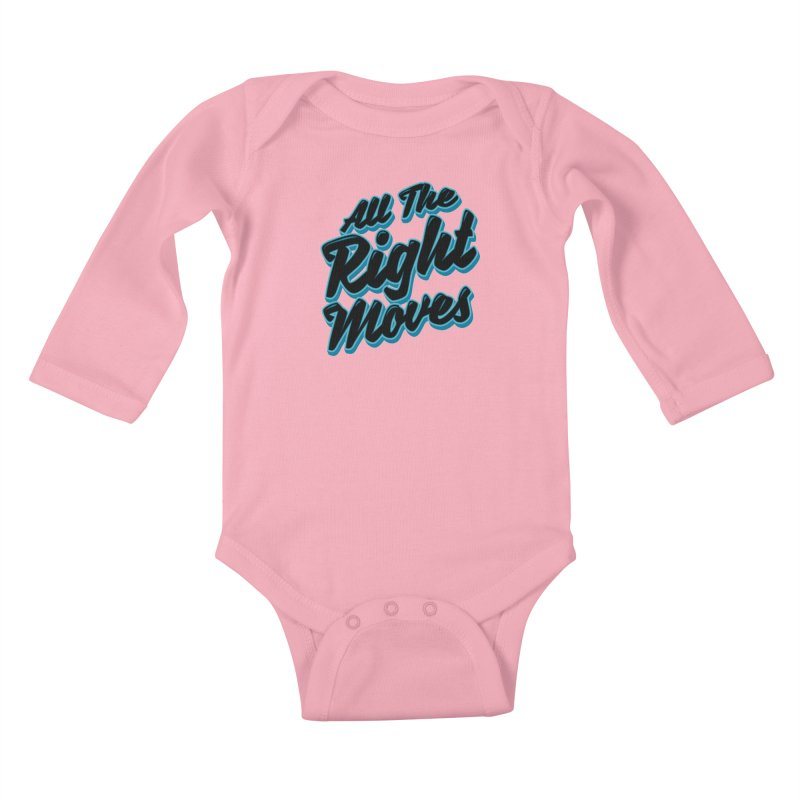 All The Right Chess Moves Kids Baby Longsleeve Bodysuit by Grandio Design Artist Shop