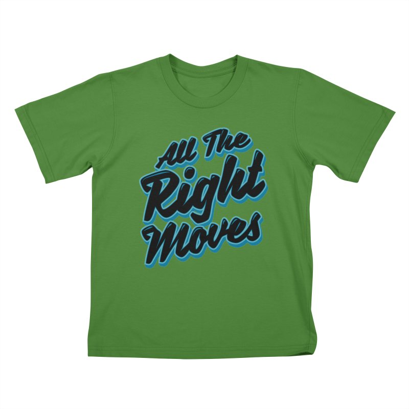 All The Right Chess Moves Kids T-Shirt by Grandio Design Artist Shop
