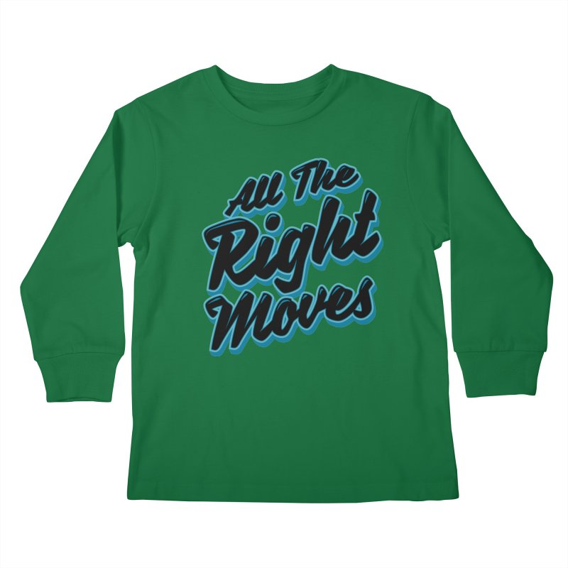 All The Right Chess Moves Kids Longsleeve T-Shirt by Grandio Design Artist Shop