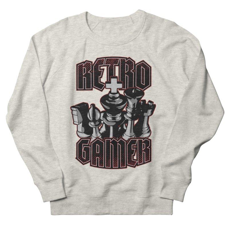 Chess Retro Gamer Women's Sweatshirt by Grandio Design Artist Shop