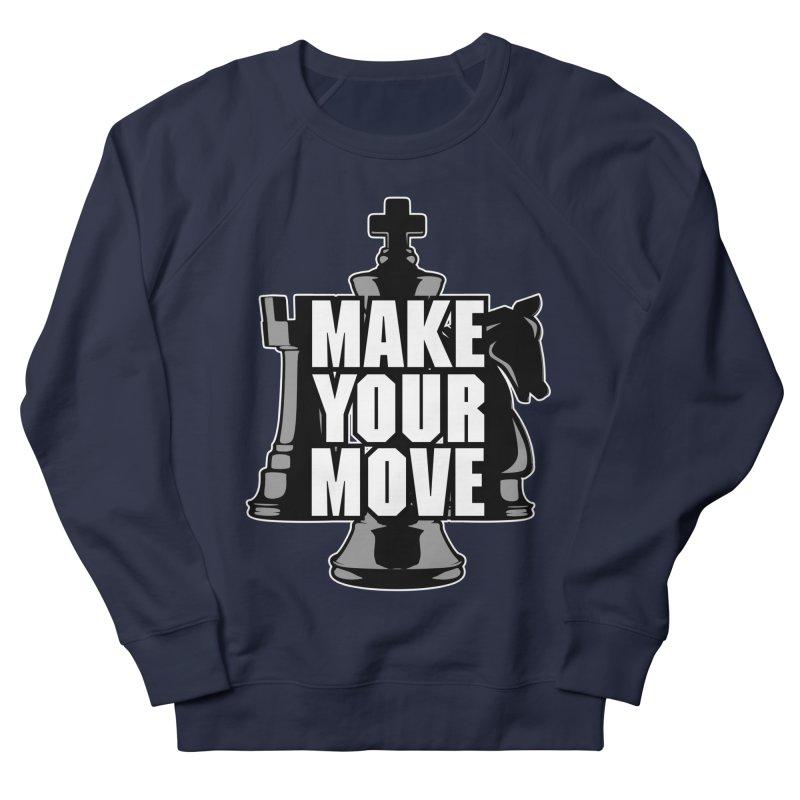 Make Your Move Chess Men's Sweatshirt by Grandio Design Artist Shop