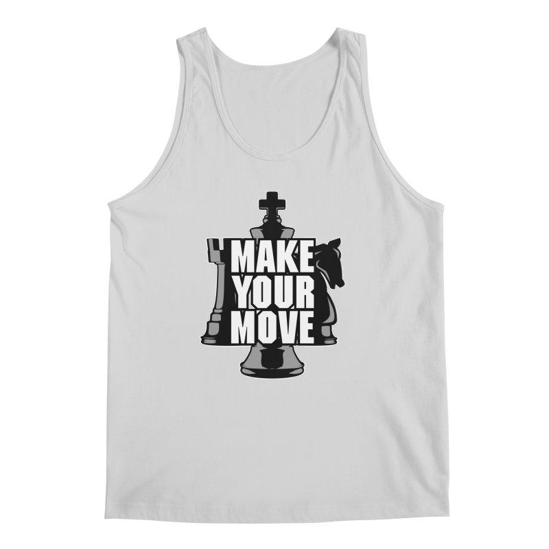 Make Your Move Chess Men's Tank by Grandio Design Artist Shop