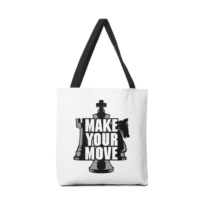 Make Your Move Chess Accessories Bag by Grandio Design Artist Shop