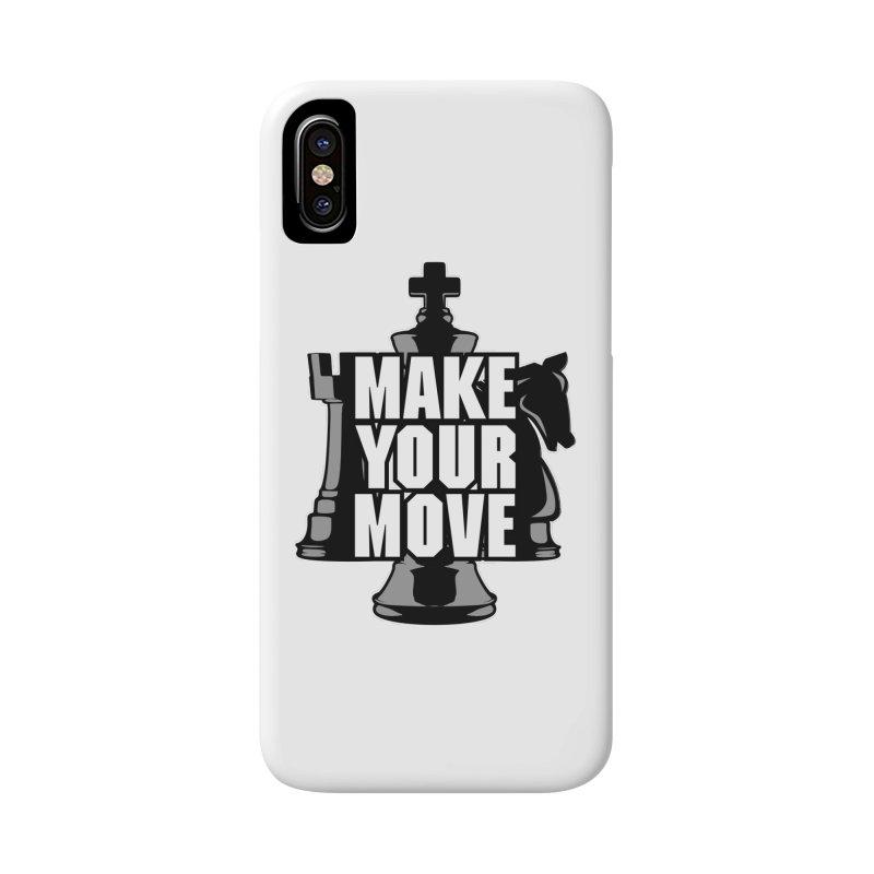 Make Your Move Chess Accessories Phone Case by Grandio Design Artist Shop