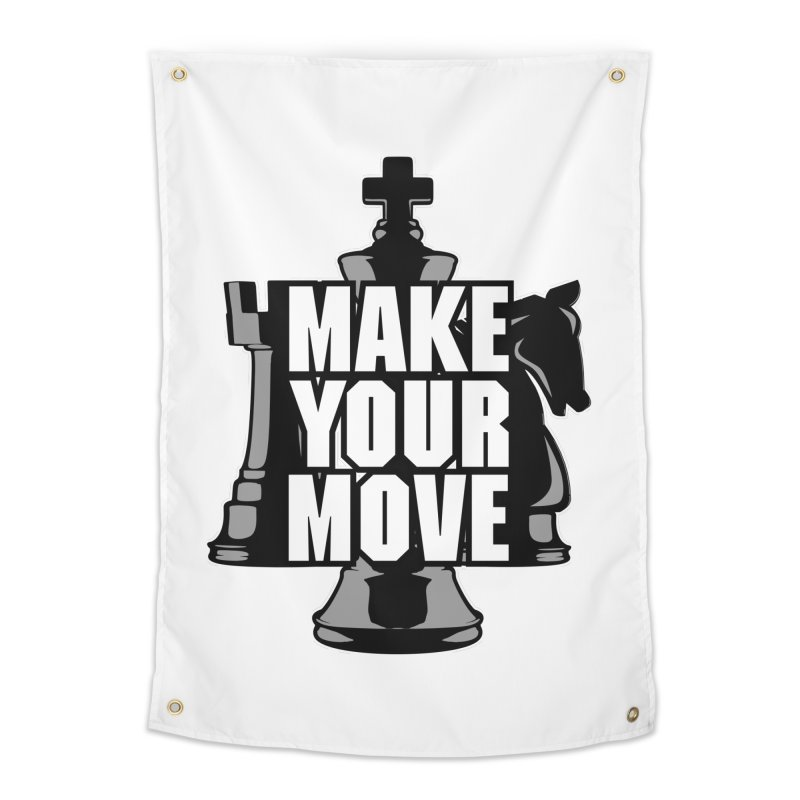 Make Your Move Chess Home Tapestry by Grandio Design Artist Shop
