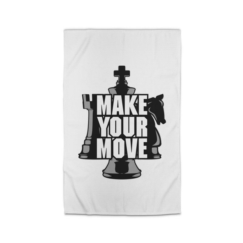 Make Your Move Chess Home Rug by Grandio Design Artist Shop