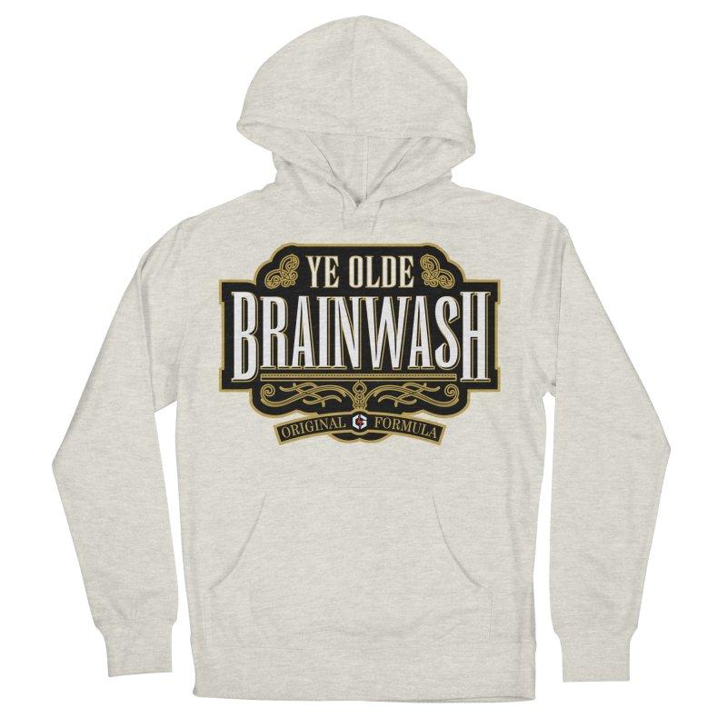 Ye Olde BRAINWASH Men's Pullover Hoody by Grandio Design Artist Shop