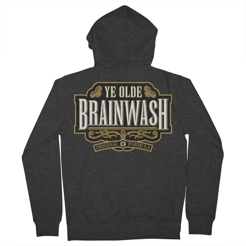 Ye Olde BRAINWASH Men's Zip-Up Hoody by Grandio Design Artist Shop