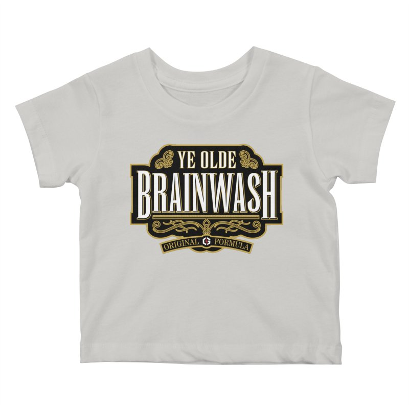 Ye Olde BRAINWASH Kids Baby T-Shirt by Grandio Design Artist Shop
