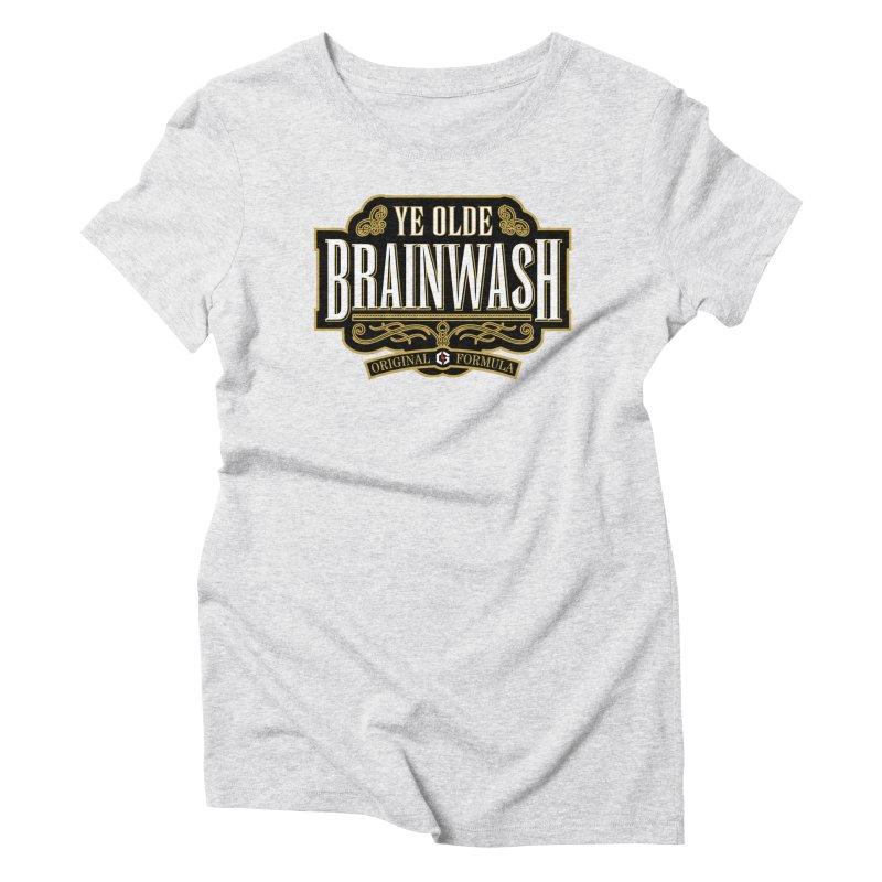 Ye Olde BRAINWASH Women's Triblend T-Shirt by Grandio Design Artist Shop