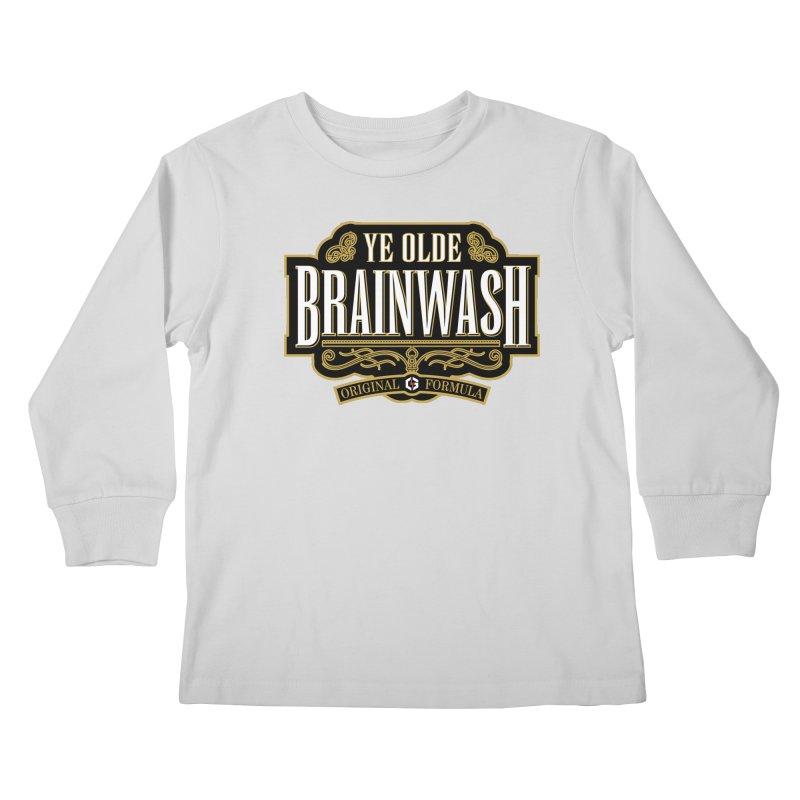 Ye Olde BRAINWASH Kids Longsleeve T-Shirt by Grandio Design Artist Shop