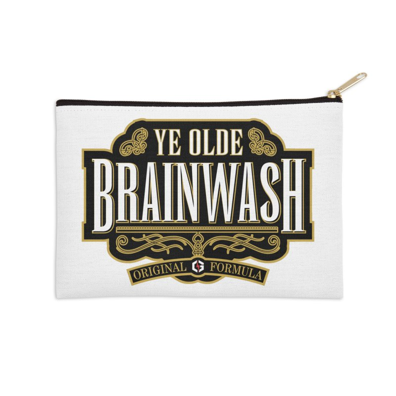 Ye Olde BRAINWASH Accessories Zip Pouch by Grandio Design Artist Shop