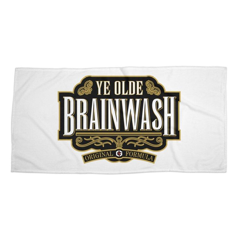 Ye Olde BRAINWASH Accessories Beach Towel by Grandio Design Artist Shop