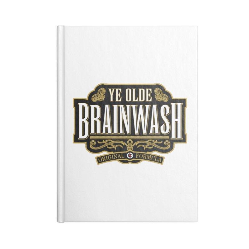 Ye Olde BRAINWASH Accessories Notebook by Grandio Design Artist Shop