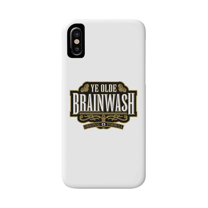 Ye Olde BRAINWASH Accessories Phone Case by Grandio Design Artist Shop
