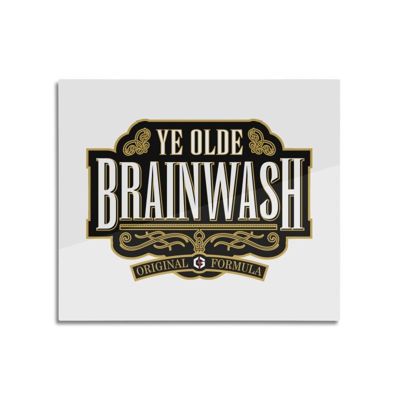 Ye Olde BRAINWASH Home Mounted Acrylic Print by Grandio Design Artist Shop