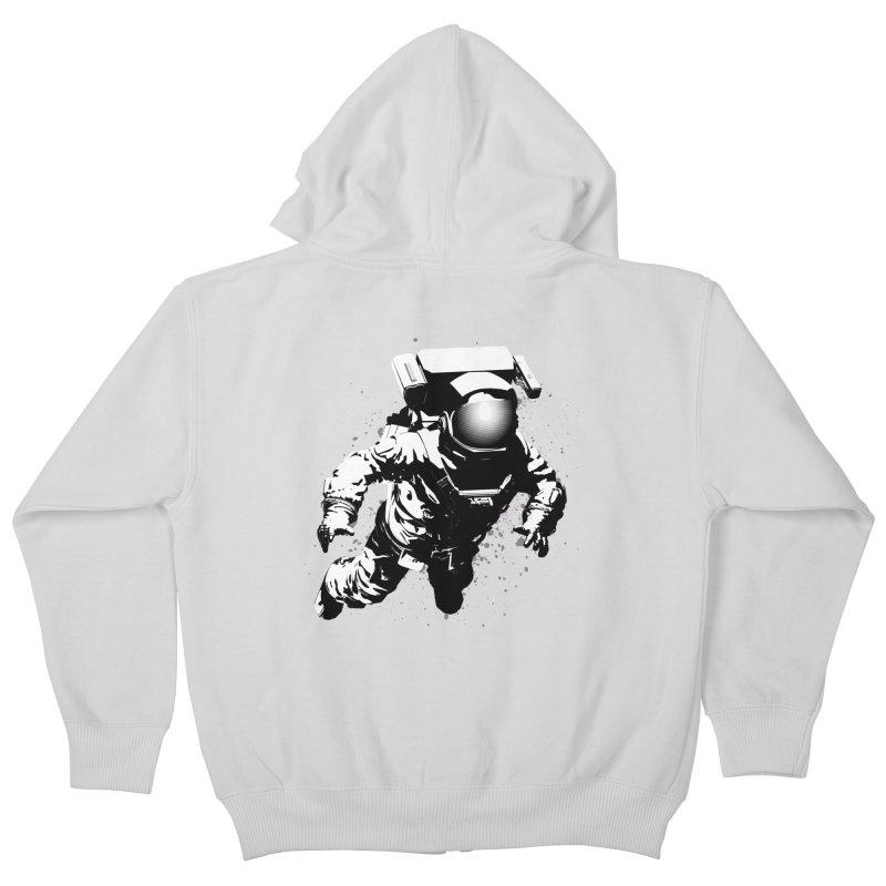 Cosmic Breakthrough Kids Zip-Up Hoody by Grandio Design Artist Shop