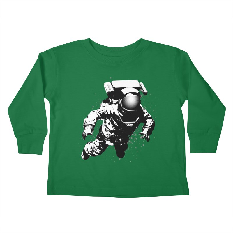 Cosmic Breakthrough Kids Toddler Longsleeve T-Shirt by Grandio Design Artist Shop