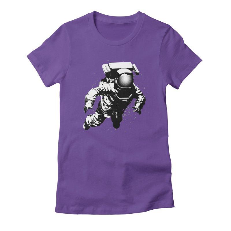 Cosmic Breakthrough Women's Fitted T-Shirt by Grandio Design Artist Shop